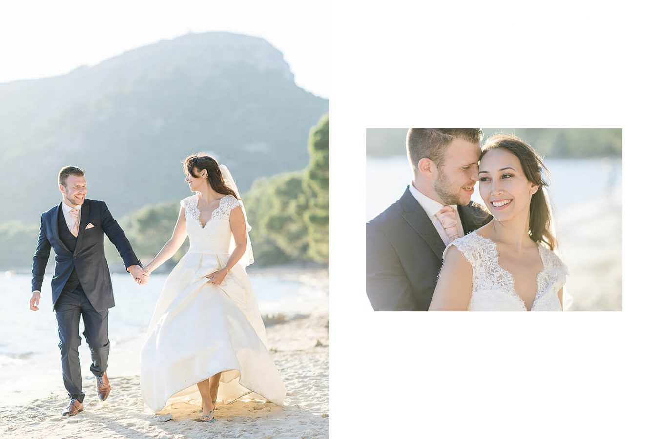 Mallorca Hochzeit Wedding Hochzeitsfotograf After-Wedding-Shooting Sonnenuntergang Cap Formentor Strand
